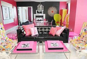Palms Barbie Suite living room