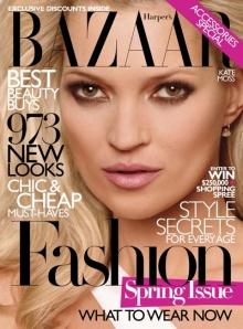 Harpers Bazaar Cover Kate Moss