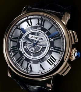 Cartier Rotonde de  Cartier central chronograph watch picture